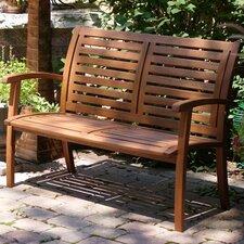 Ashe Eucalyptus Garden Bench