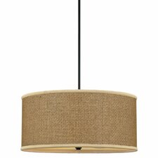 Greene 4 Light UpLight Drum Pendant
