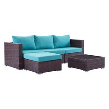 Bonaventure 5 Piece Deep Seating Group with Cushion