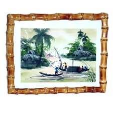 Porter Root Bamboo Picture Frame