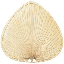 "Key 22"" Palm Leaf Ceiling Fan Blade Set (Set of 8)"