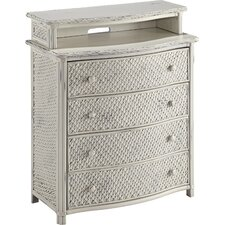 Oliver 4 Drawer Media Chest