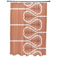 Sigsbee Fern 1 Floral Print Shower Curtain
