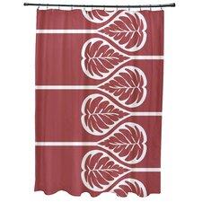 Sigsbee Fern 2 Floral Print Shower Curtain