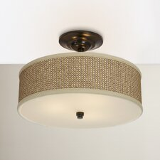 Greene 3 Light Semi Flush Mount