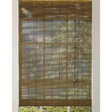 Outdoor Bamboo Roll-Up Blind