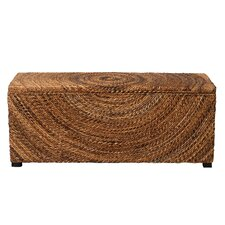 Geiger Wood Storage Bedroom Bench