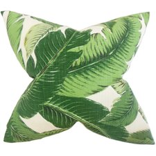 Elgin Foliage Throw Pillow