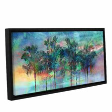Palmae Reflections Top Framed Graphic Art