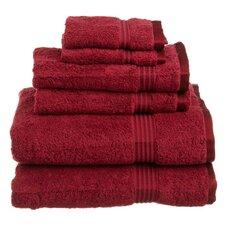 600GSM Premium Combed Cotton  6 Piece Towel Set