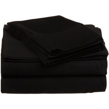 530 Thread Count Premium Long-Staple Combed Cotton Solid Sheet Set