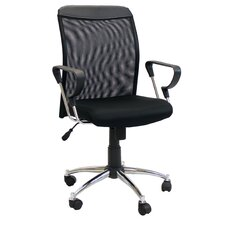 Low-Back Mesh Conference Chair