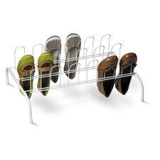 Floor 1-Tier Shoe Rack (Set of 2)