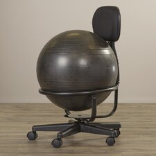 Low-Back Exercise Ball Chair