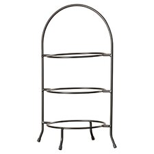 3 Tier Dinner Plate Rack Tiered Stand