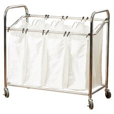 4 Section Laundry Sorter