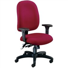 Ergonomic Mid-Back Confrence Chair with Arms