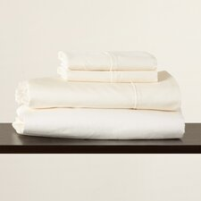 600 Thread Count Cotton Rich Solid Sheet  Set