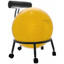 Mid-Back Exercise Ball Chair