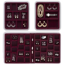 3 Piece Compartment Combo Pack Jewelry Box