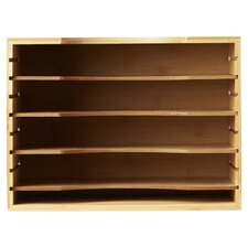File Organizer with Four Dividers