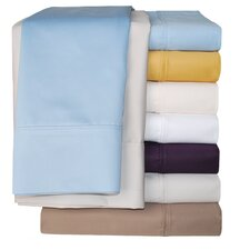 Cotton Rich 1000 Thread Count Solid Duvet Cover Set