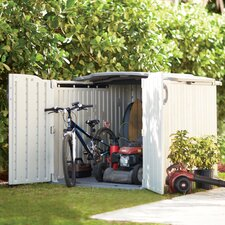 5 Ft. W x 7 Ft. D Plastic Storage Shed