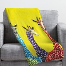 Korey Giraffes Throw Blanket