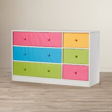 Brooke 6 Drawer Dresser