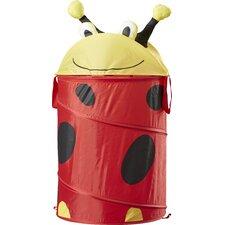 Ladybug Medium Kid's Pop-Up Hamper