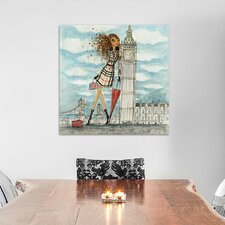 Apple Blythe Alison See the Sights London Painting Print on Wrapped Canvas