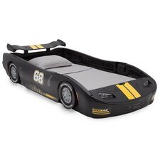 Zakary Turbo Race Car Twin Standard Bed