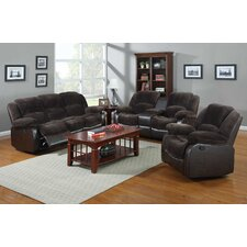Aiden 3 Piece Motion Sofa Set