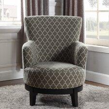 London Swivel Arm Chair