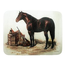 Horse with Saddle Cutting Board