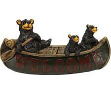 Cute Bears Welcome Plaque Wall Décor