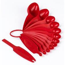 13 Piece Polypropylene Measuring Spoon Set