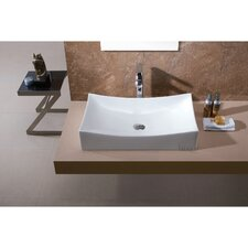 L-001 Bathroom Porcelain Ceramic Vessel Vanity Sink Art Basin