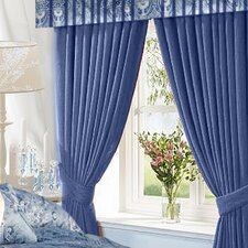 Cotton Rod Pocket Curtain Panels (Set of 2)