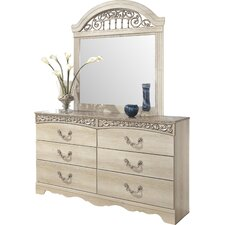 Johnby Arched Dresser Mirror