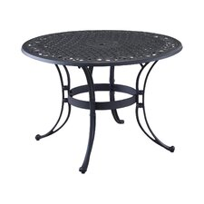 Van Glider Outdoor Round Dining Table