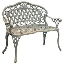Parkton Cast Iron/Aluminum Garden Bench