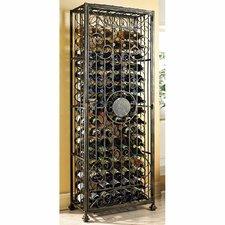 Rudchester 96 Wine Floor Bottle Rack