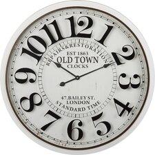 "Oversized 32"" Bailey Street Wall Clock"