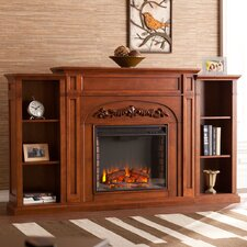 "Grandmasters 42"" Bookcase Electric Fireplace"