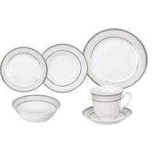 Racconigi Porcelain 24 Piece Dinnerware Set
