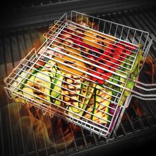 Non Stick Adjustable BBQ Grill Basket