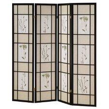 "Reyansh 70"" x 68"" 4 Panel Room Divider"