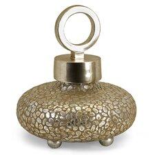Shakti Round Lidded Vase