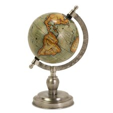 Small Table Top Globe with Base